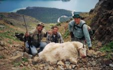 Bob's 9 inch Mountain goat - Nanika lake