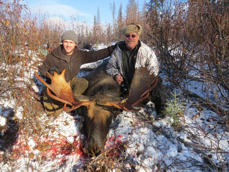 Late Season Moose Hunts - Nanikalakeoutfitters.com